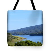 On The Way To Half Moon Bay Tote Bag
