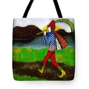 On The Way To Hamelin Town Tote Bag
