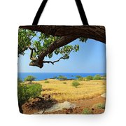 On The Way To Lapakahi Tote Bag