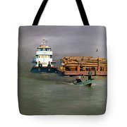 On The Way To Mingun Tote Bag