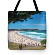 On The Way To The Beach. Tote Bag
