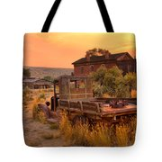 On The Way To Town Tote Bag