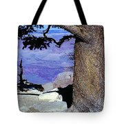 On The West Rim Of The Grand Canyon Tote Bag