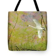 On The Wing Tote Bag by Belinda Greb