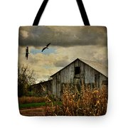 On The Wings Of Change Tote Bag