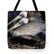On Their Nest Tote Bag