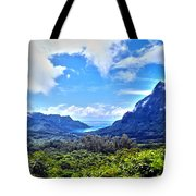 On Top Of Moorea Tote Bag