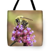 On Top Of The World - Bee Style Tote Bag
