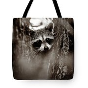 On Watch - Sepia Tote Bag