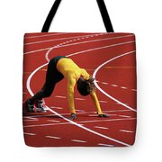 Track And Field 1 Tote Bag