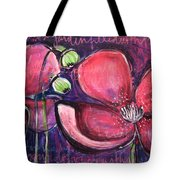 Once I Was In A Garden Filled With Poppies Tote Bag