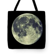 Once In A Blue Moon Tote Bag by Candice Trimble