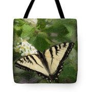 Once There Was A Butterfly Tote Bag