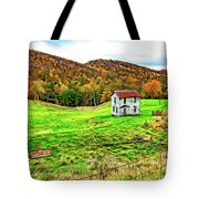 Once Upon A Mountainside 2 - Paint Tote Bag