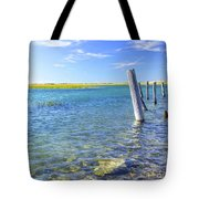 Once Upon A Pier Tote Bag