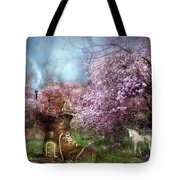 Once Upon A Springtime Tote Bag