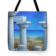 Once Upon A Time In Greece Tote Bag