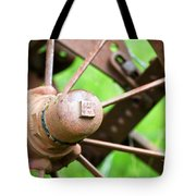 Once Upon A Wheel Tote Bag