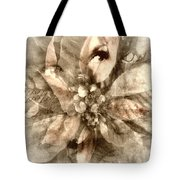 Once Upon Grandmom's Poinsettia Tote Bag