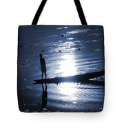 Once Upon In A Moonlit Night Tote Bag