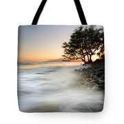 One Against The Tides Tote Bag