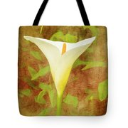 One Arum Lily Tote Bag