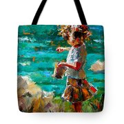 One At A Time Tote Bag