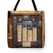 One Cent Matches Tote Bag