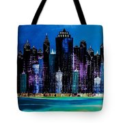 One City Night 9 Tote Bag
