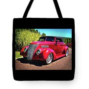 One Cool 1937 Ford Roadster Tote Bag
