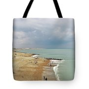 One Cool Beach Day  Tote Bag
