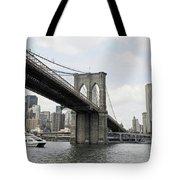 One Day At Brooklyn Bridge Tote Bag