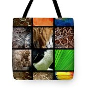 One Day At The Zoo Tote Bag by Michelle Calkins