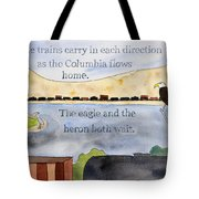 One Day In The Columbia Gorge Tote Bag