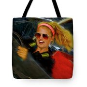 One Fast Girl Tote Bag