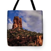 One Finger Shy Tote Bag