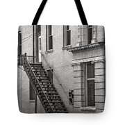 One Flight Up Tote Bag