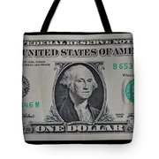 One Green Tote Bag