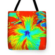 One Hot Flower Tote Bag