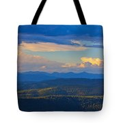 One Hour Before Sunset Tote Bag