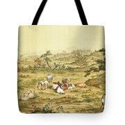 One Hundred Horses 5 Tote Bag