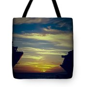 One Last Glimpse Tote Bag