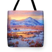 One Last Winters Eve Tote Bag