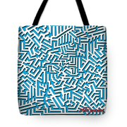 One Liner 26 3d Tote Bag