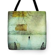 One Man In The Winter Of His Life Tote Bag