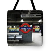 One Man Standing Tote Bag