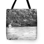 One More Cast Tote Bag