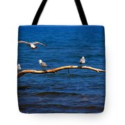 One More Makes Four Tote Bag by Amanda Struz