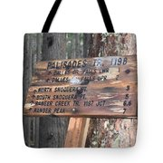 One More Mile Tote Bag