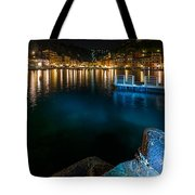 One Night In Portofino - Una Notte A Portofino Tote Bag by Enrico Pelos